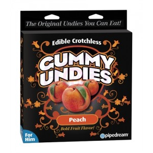 Gummy Undies - for Him - Peach