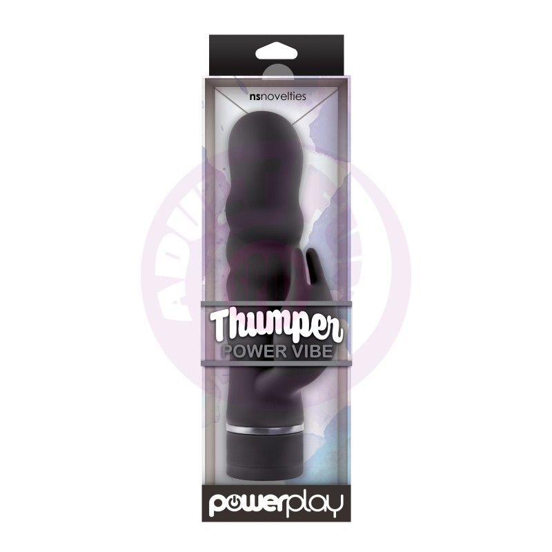 Power Play Thumper Power Vibe - Black