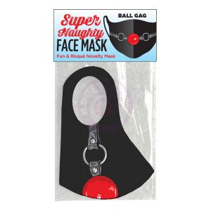 Super Naughty Ball Gag Face Mask
