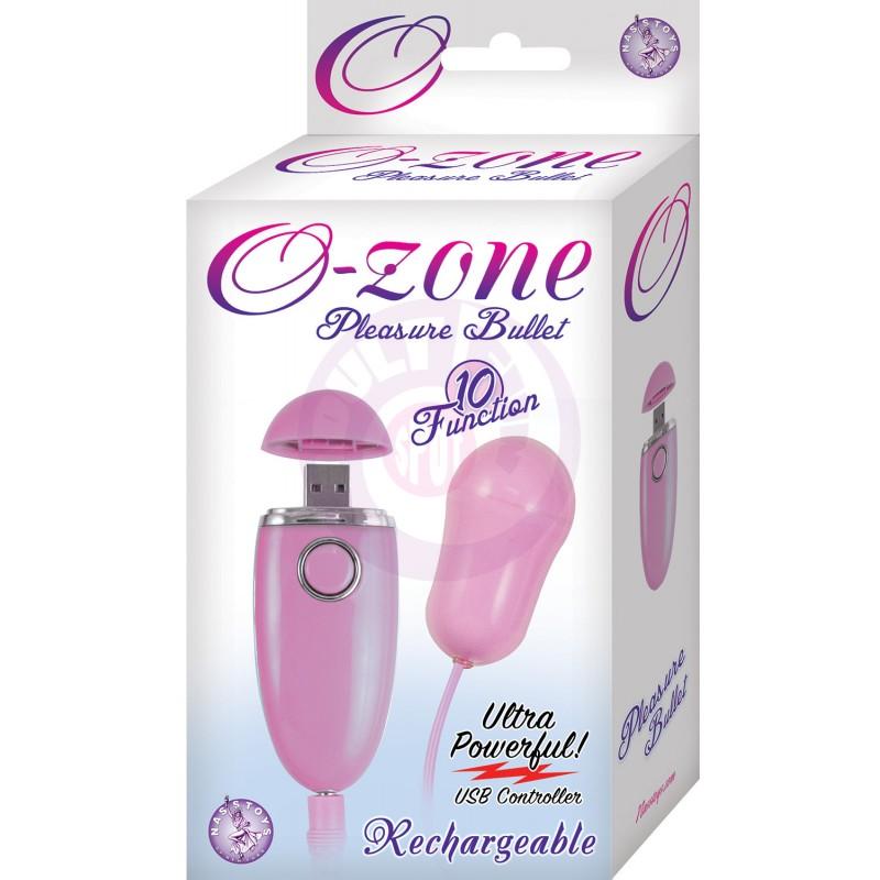 Ozone Pleasure Bullet - Pink