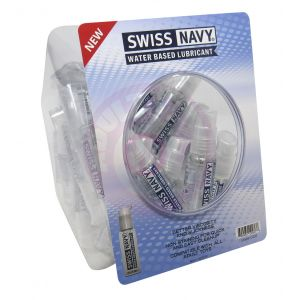 Swiss Navy Water-Based 1oz 50ct Fishbowl