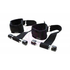 Door Jam Cuffs - Black