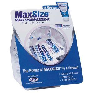 Max Size Cream 50 Ct. Fishbowl