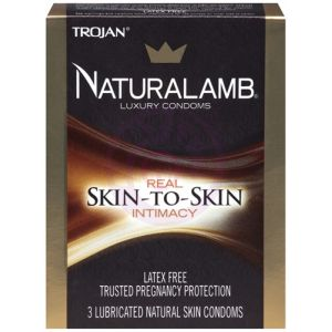 Trojan Naturalamb Luxury Condoms - 3 Pack