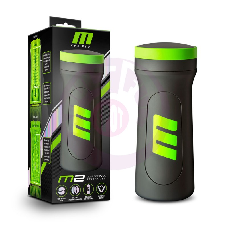 M for Men - M2 - Male Masturbator Cup - Black