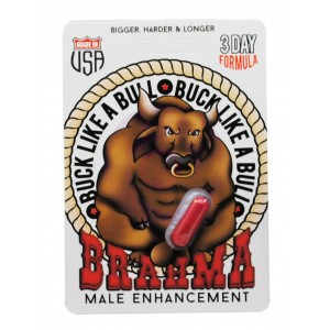 Brahma Male Enhancement - 1 Count Blister Pack