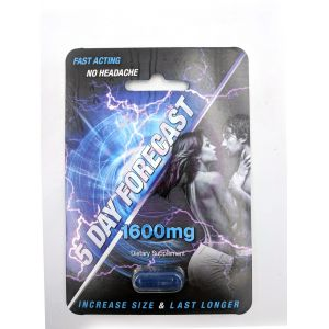 5 Day Forecast Male Enhancement - Single Pack