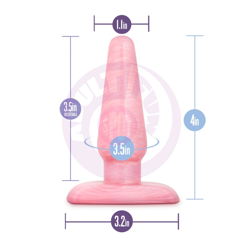 B Yours - Cosmic Plug - Pink - Small