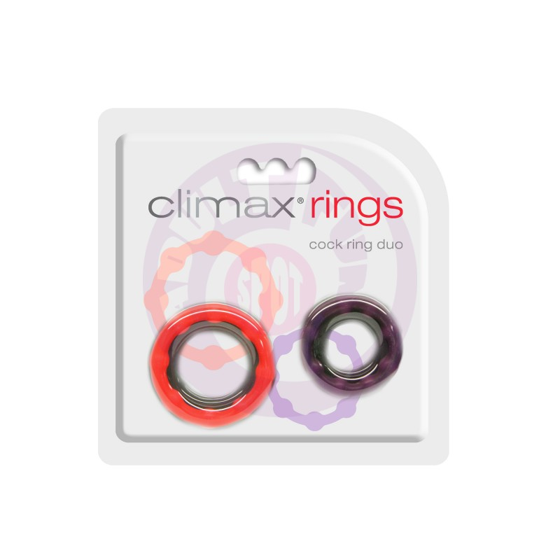 Climax Rings - Cock Ring Duo