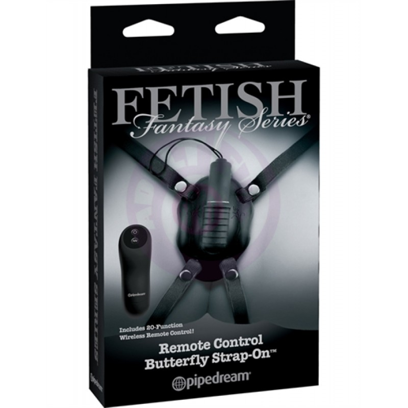 Fetish Fantasy Limited Edition Remote Control Butterfly Strap-On