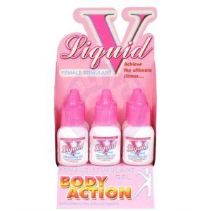 Liquid v for Women - 6 Pack Bottle Display