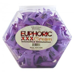 Euphorix XXX Cream - 72 Piece Fishbowl - 10 ml Pillows