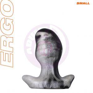 Ergo Butt Plug - Small - Platinum Swirl