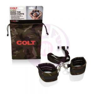 Colt Camo Over the Door Cuffs