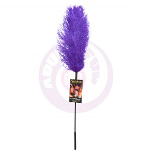 Ostrich Tickler - Purple