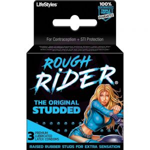 Rough Rider - Original Studded - 3 Pack
