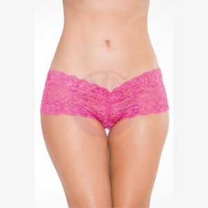 Boy Short - Hot Pink - S/m