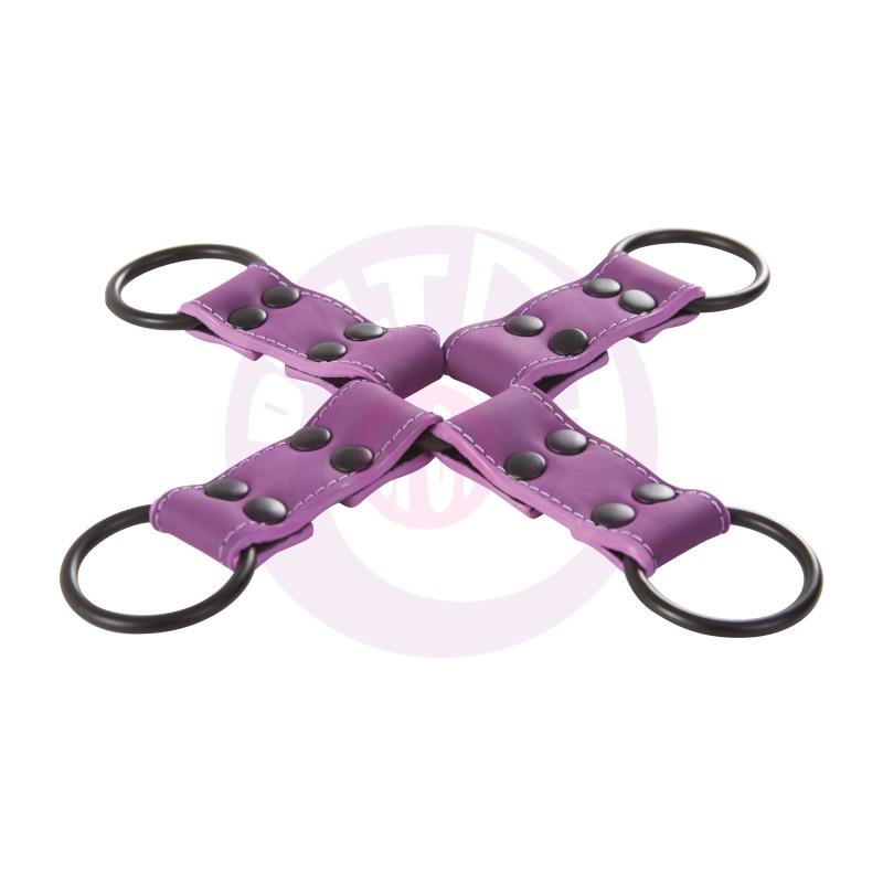 Lust Bondage Hogtie - Purple