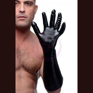 Pleasure Fister Textured Fisting Glove