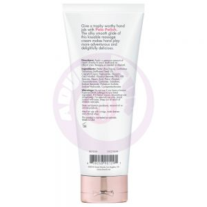 Pole Polish Kissable Massage Cream Not So Vanilla 4 Fl Oz.