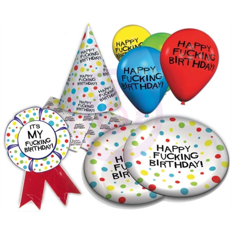 X-Rated Birthday Party Pack