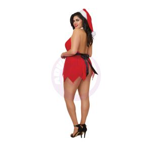 Santas Little Helper - Red - Queen Size