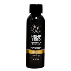 Dreamsicle Hemp Seed Massage Oil - 2 Oz.