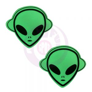 Glow in the Dark Alien Pasties