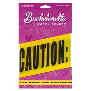 Bachelorette Party Favors - Caution Tape