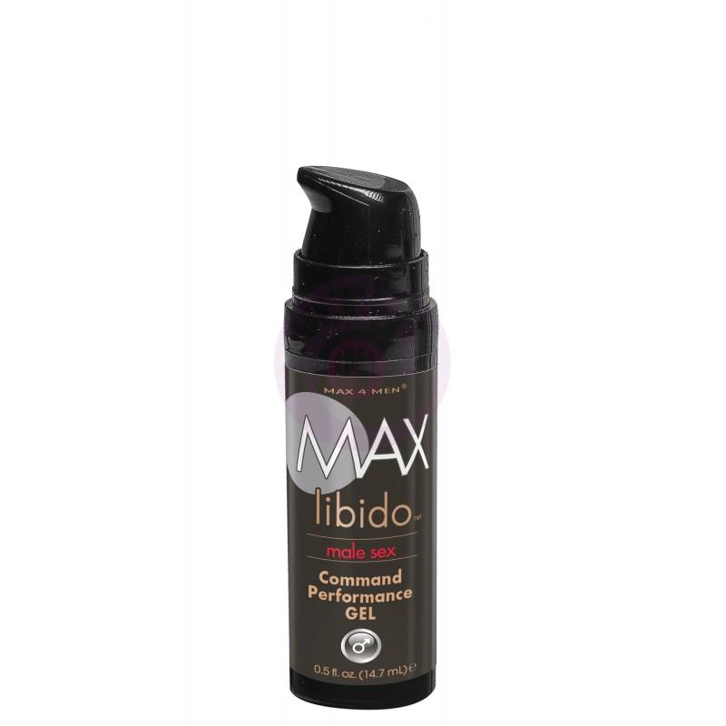 Max Libido Command Performance Gel - 0.5 Fl. Oz. / 14.7 ml