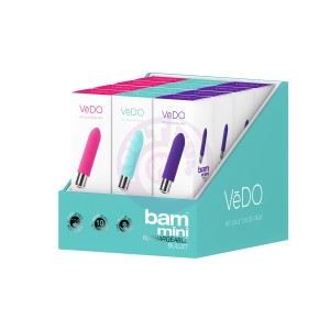 Bam Mini Bullet - Assorted 12 Pc Display