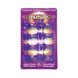 Orgasmix Pillow Packs Blister Card - 8 Piece