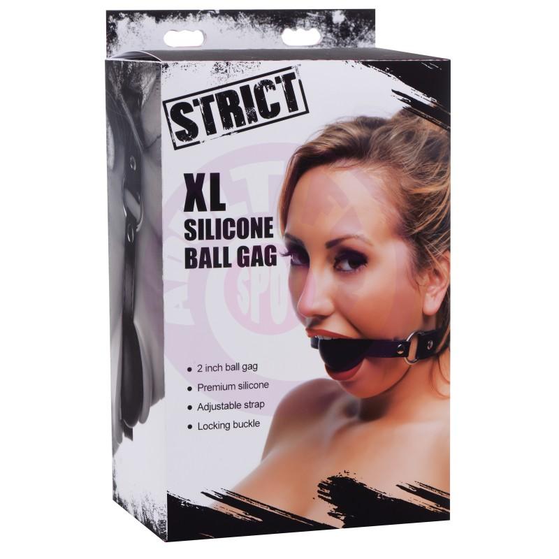 Xl Silicone Ball Gag