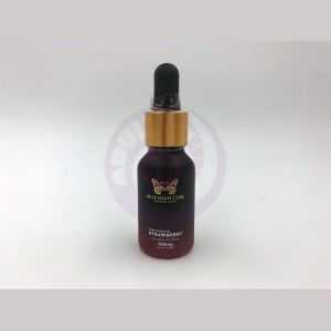 Mile High Cure Hemp Derived Oil Strawberry 15ml Dropper Bottle 625mg