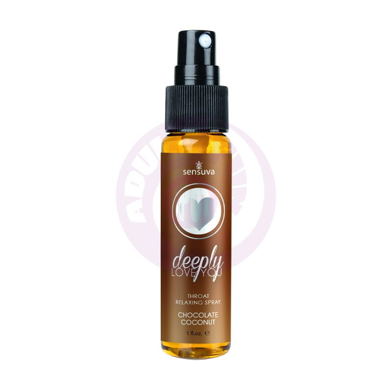 Deeply Love You Throat Relaxing Spray - Chocolate  Coconut - 1 Fl. Oz.