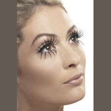 Gothic Manor Ghost Bride Eyelashes - Black