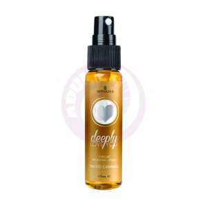 Deeply Love You Throat Relaxing Spray - Salted  Caramel - 1 Fl. Oz.