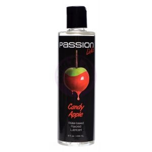 Passion Licks Candy Apple Water Based Flavored Lubricant - 8 Fl Oz / 236 ml