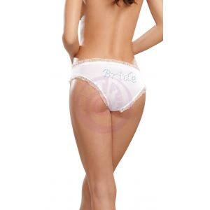 Bride Panty - White - Large