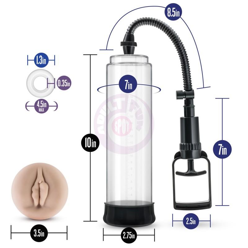 Performance Vx5 Male Enhancement Pump System - Clear