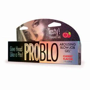 Problo Arousing Blow Job Gel - Cherry  1.5 Fl Oz 44ml