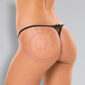 Allure Pixie Panty - One Size - Black