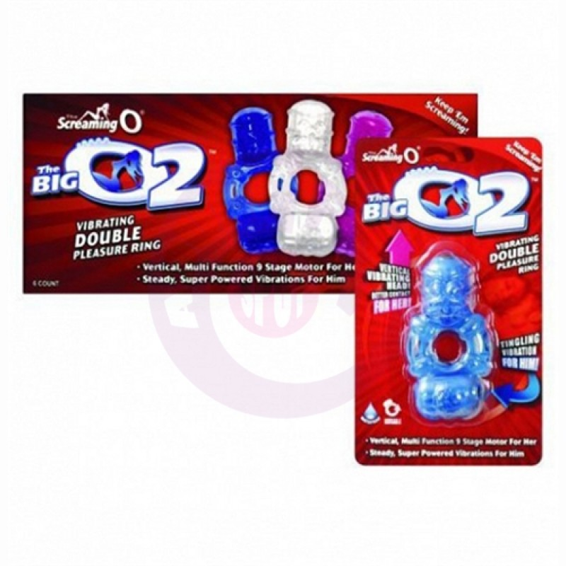 The Big O 2 - 6 Count Box - Assorted Colors