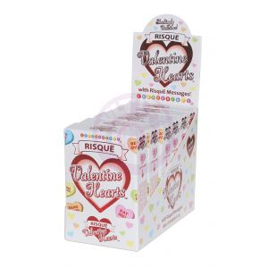 Risque Valentine's Candy - 6 Count Display