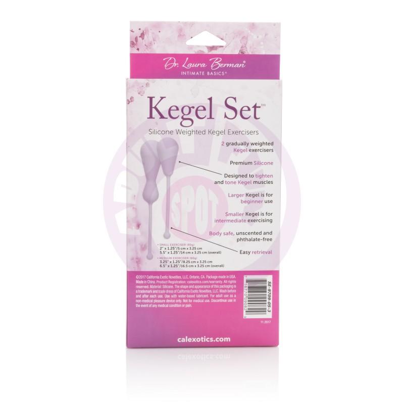 Dr. Laura Berman Kegel Set  Silicone Weighted  Kegel Exercisers