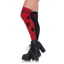 Harlequin Over the Knee Socks - One Size