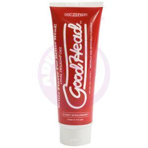 Good Head Oral Delight Gel 4 Oz - Sweet Strawberry