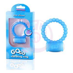 Gogo Bubble Vibrating Ring - Blue
