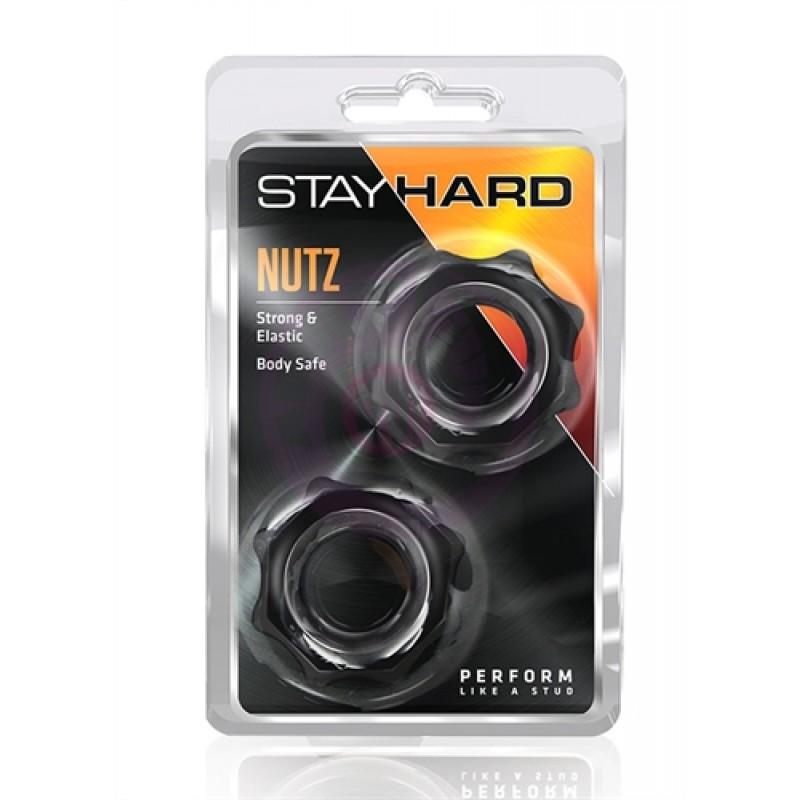 Stay Hard Nutz - Black