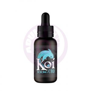 Blue Koi - Blue Raspberry Dragon Fruit - 100mg
